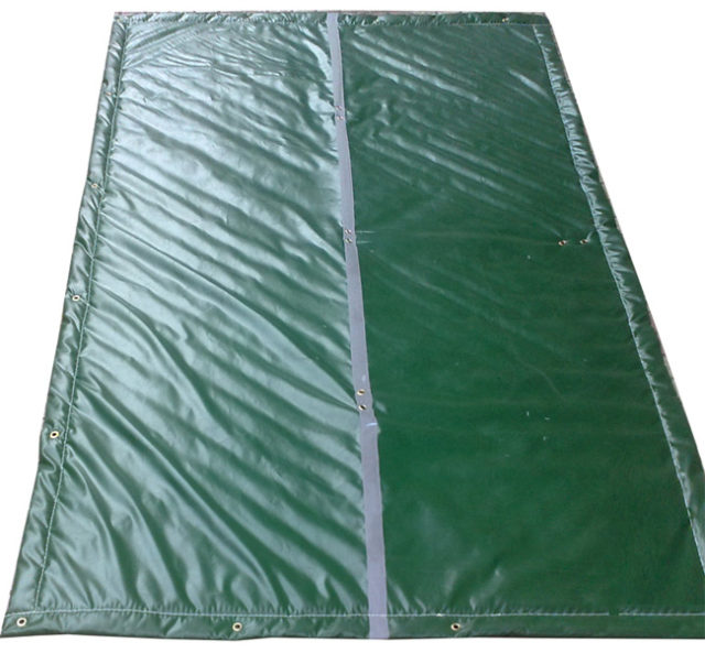 Construction Blanket For Construction Site Noise Control Exterior Blankets