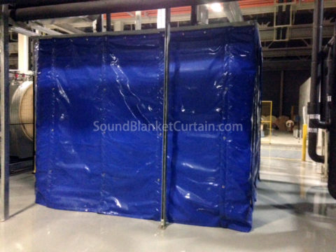 Noise Dampening Curtains Sound Blanket Curtain