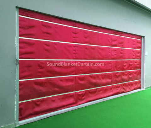 Heavy Noise Reducing Curtains Industrial Noise Reduction Curtain Blanket