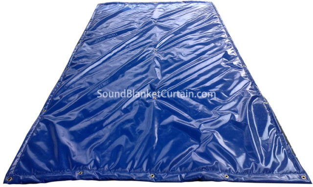 Soundproofing Blankets With Grommets Acoustic Soundproof Blanket Moving Blankets For Soundproofing